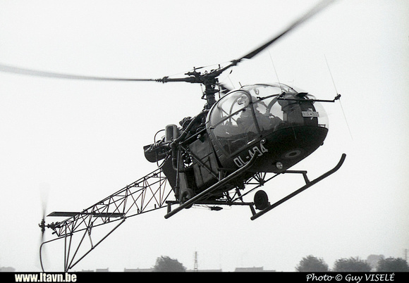 Pierre GILLARD: Aéronefs : Alouette II Artouste &emdash; A04-030175