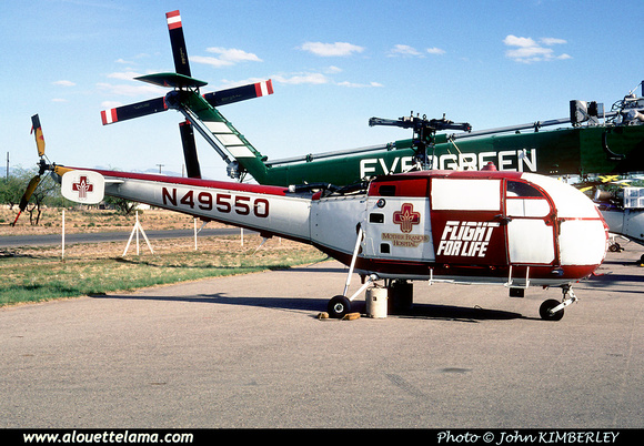 Pierre GILLARD: U.S.A. - Evergreen Helicopters &emdash; 005081