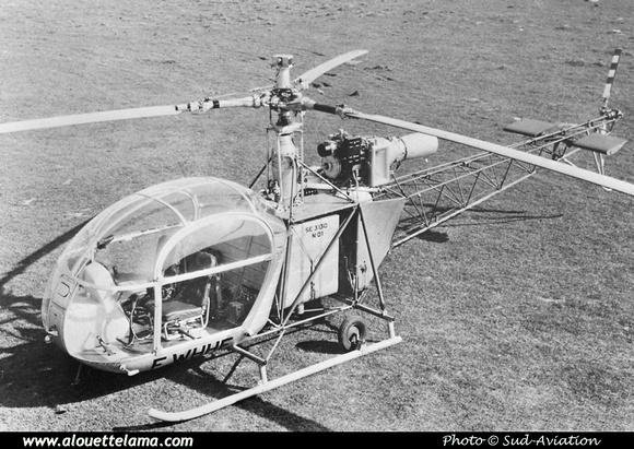 Pierre GILLARD: Prototypes : SE-3130 Alouette II &emdash; 01-000630