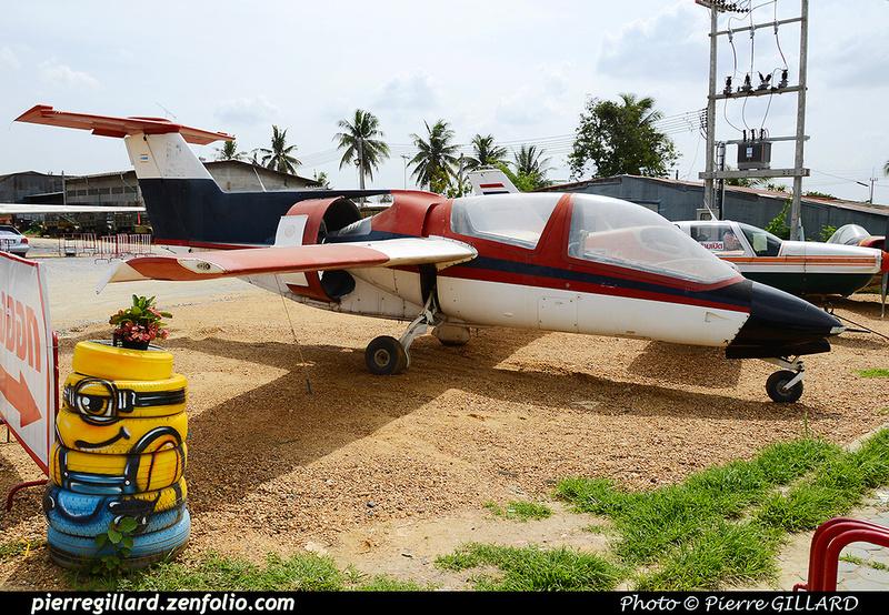 Pierre GILLARD: Thailand : Aircraft Flea Market Nakhon Pathom &emdash; 2016-513157