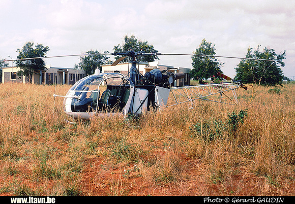 Pierre GILLARD: Aéronefs : Alouette II Astazou &emdash; A62-000376