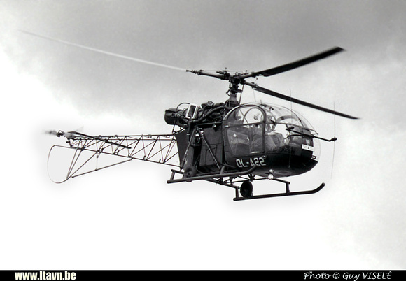 Pierre GILLARD: Aéronefs : Alouette II Artouste &emdash; A22-030214