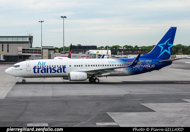 Pierre GILLARD: Air Transat &emdash; 2017-703156