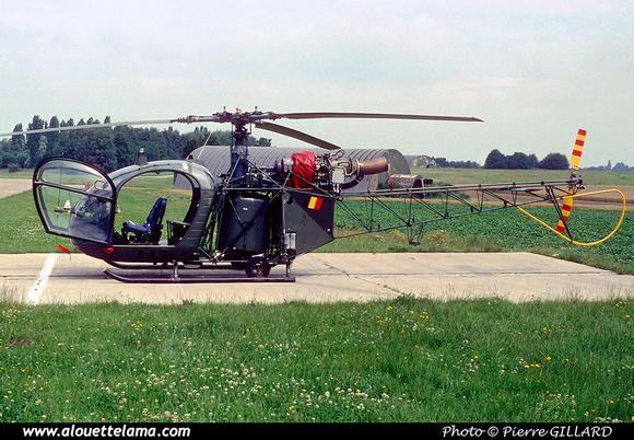 Pierre GILLARD: Aéronefs : Alouette II Astazou &emdash; A43-006444