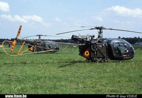 Pierre GILLARD: Aéronefs : Alouette II Artouste &emdash; A22-030121