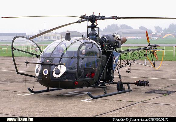 Pierre GILLARD: Aéronefs : Alouette II Astazou &emdash; A80-000378