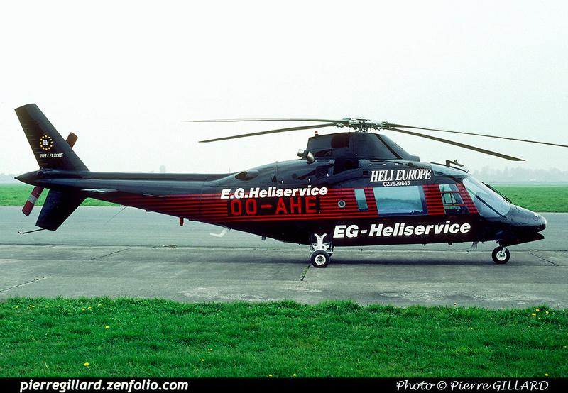 Pierre GILLARD: Belgium - EG Heliservice &emdash; 020241