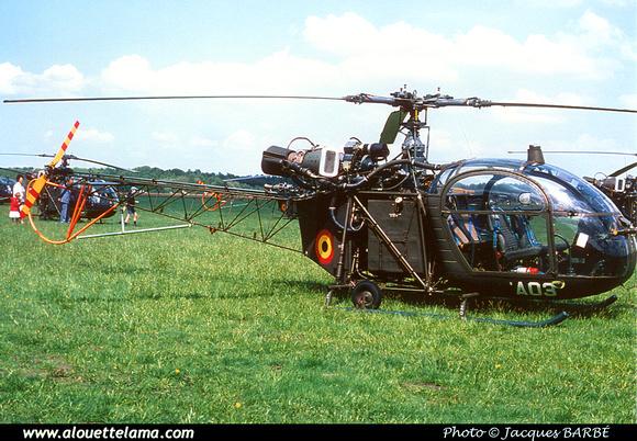 Pierre GILLARD: Aéronefs : Alouette II Artouste &emdash; A03-000005