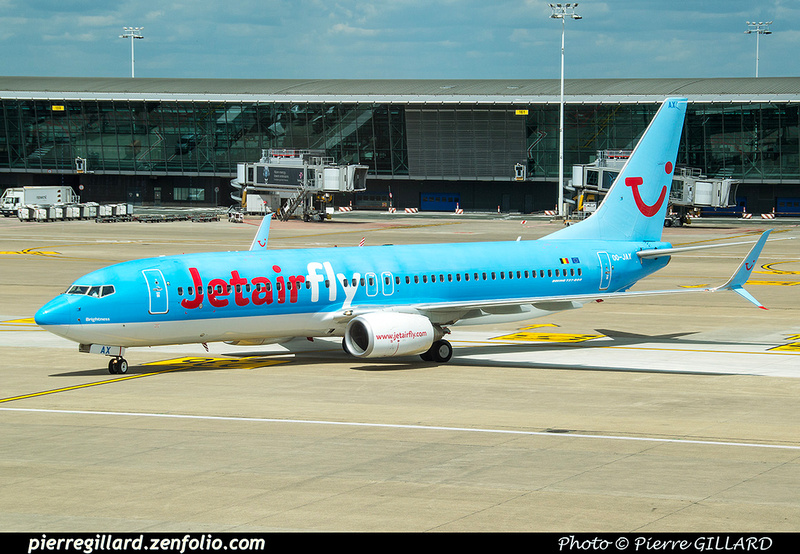 Pierre GILLARD: Jetair Fly &emdash; OO-JAX-2017-519880