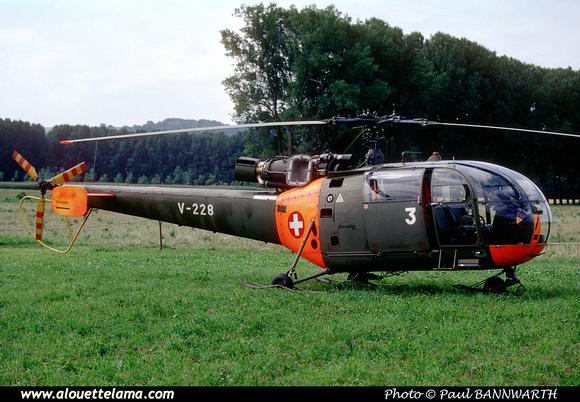 Pierre GILLARD: Forces Aériennes - Alouette III &emdash; V228-007645