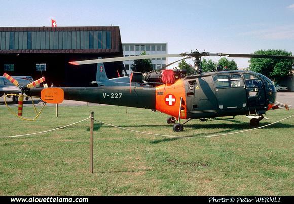 Pierre GILLARD: Forces Aériennes - Alouette III &emdash; V227-007644
