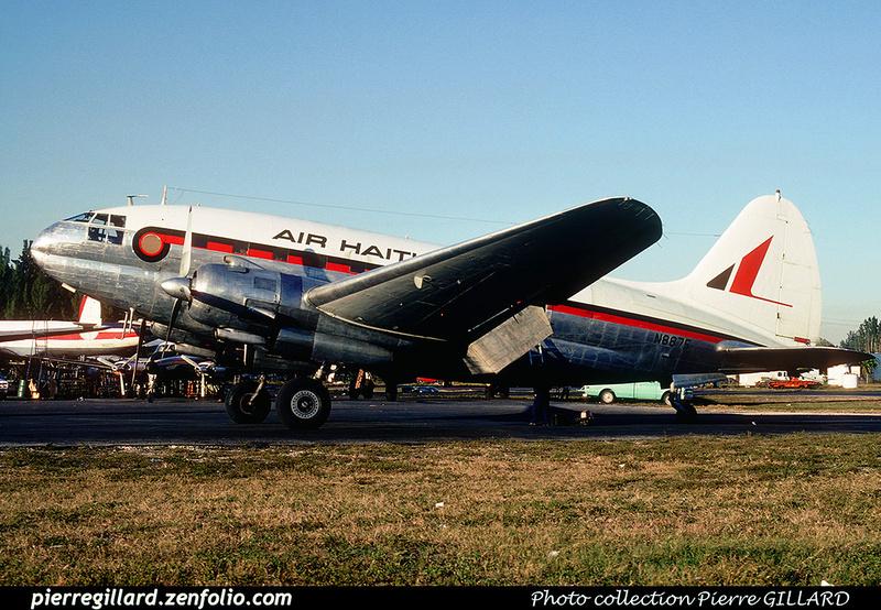 Pierre GILLARD: Air Haiti &emdash; 020261