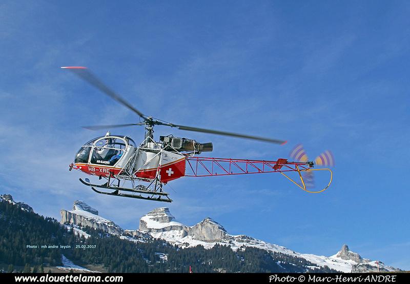 Pierre GILLARD: Air Glaciers - Leysin &emdash; 030042