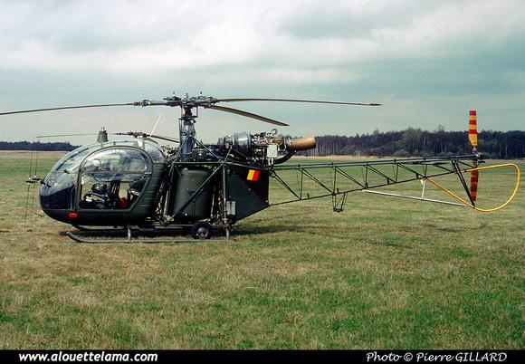 Pierre GILLARD: Aéronefs : Alouette II Astazou &emdash; A62-006527