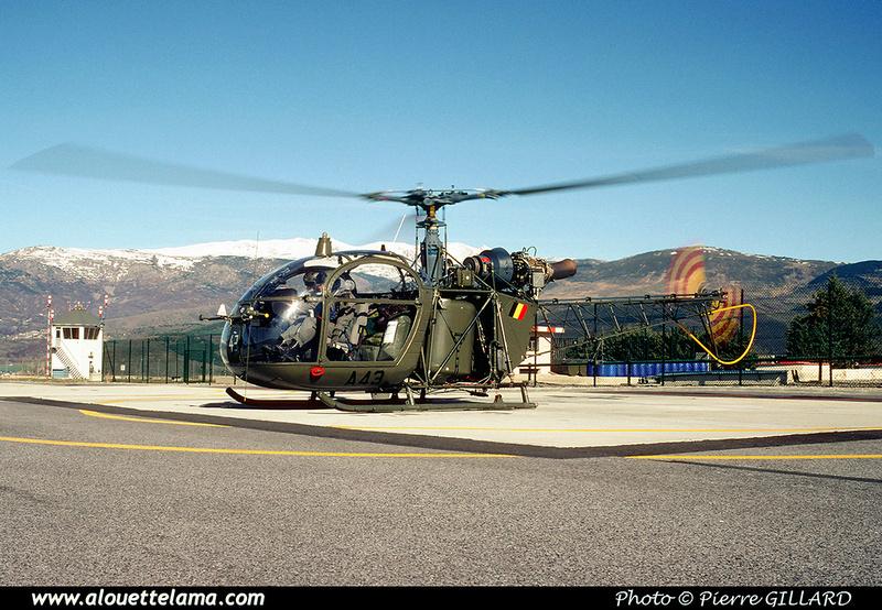 Pierre GILLARD: Aéronefs : Alouette II Astazou &emdash; A43-006446