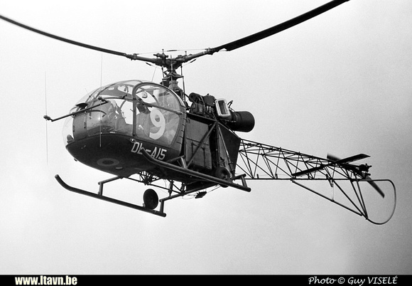 Pierre GILLARD: Aéronefs : Alouette II Artouste &emdash; A15-030181