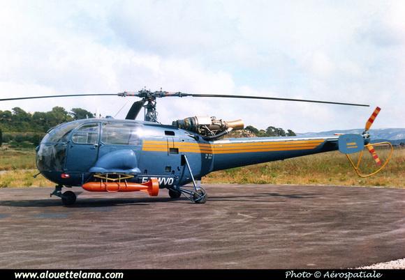 Pierre GILLARD: Prototypes : SA-319 Alouette III Astazou 001 &emdash; 008583