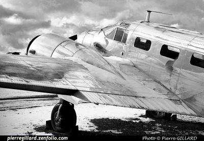 Pierre GILLARD: Beechcraft 18 CF-ZWY-X &emdash; 2014-405565