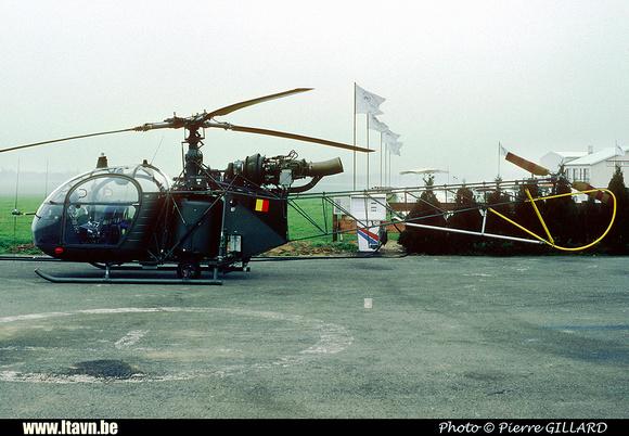 Pierre GILLARD: Aéronefs : Alouette II Astazou &emdash; A80-006600