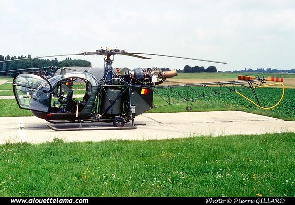 Pierre GILLARD: Aéronefs : Alouette II Astazou &emdash; A62-006529