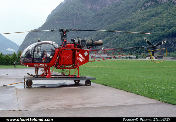 Pierre GILLARD: Switzerland - Heli TV &emdash; 006204