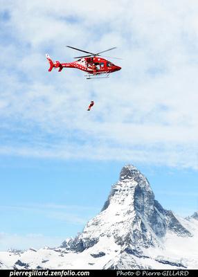 Pierre GILLARD: Air Zermatt : 2015-05-14 - Bell 429 Training Flights &emdash; 2015-409264