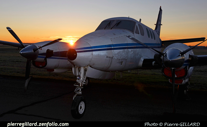 Pierre GILLARD: Beechcraft King Air 90 C-FUFW &emdash; 2015-606731