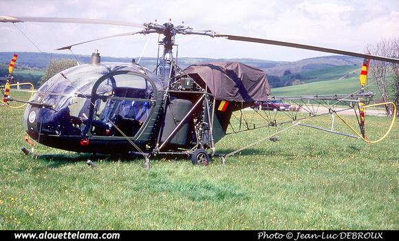 Pierre GILLARD: Aéronefs : Alouette II Astazou &emdash; A42-006439