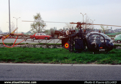 Pierre GILLARD: Aéronefs : Alouette II Artouste &emdash; A05-006121