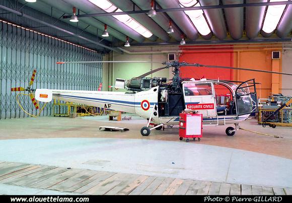 Pierre GILLARD: Sécurité Civile - Alouette &emdash; ZBAF-001-3-09