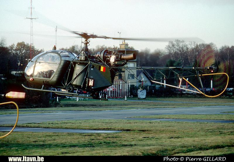 Pierre GILLARD: Aéronefs : Alouette II Astazou &emdash; A81-006602