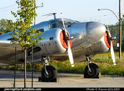 Pierre GILLARD: Beechcraft 18 CF-ZWY-X &emdash; 2015-414169
