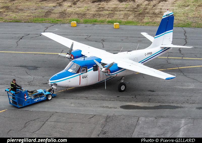 Pierre GILLARD: AeroCommander C-FPED &emdash; 2016-416482