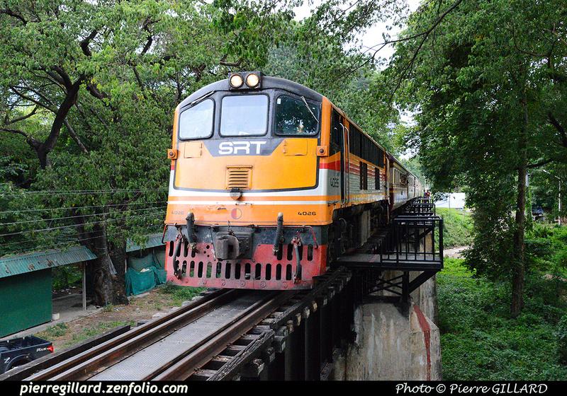 Pierre GILLARD: Thaïlande : Pont de la Rivière Kwai (Kanchanaburi) &emdash; 2016-514322