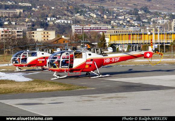 Pierre GILLARD: Air Glaciers - Sion &emdash; 004828