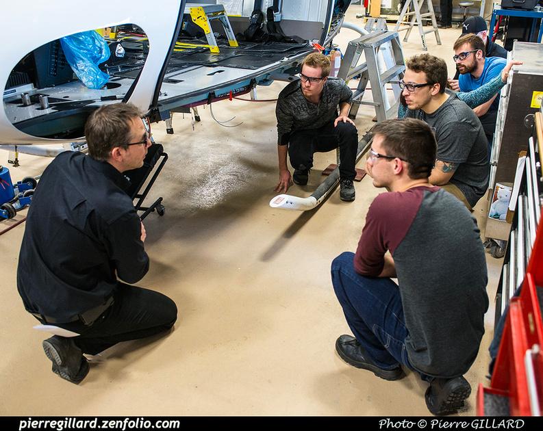 Pierre GILLARD: 2017-01-20 - Visite d'étudiants de l'ÉNA aux Hélicoptères Canadiens &emdash; 2017-610111
