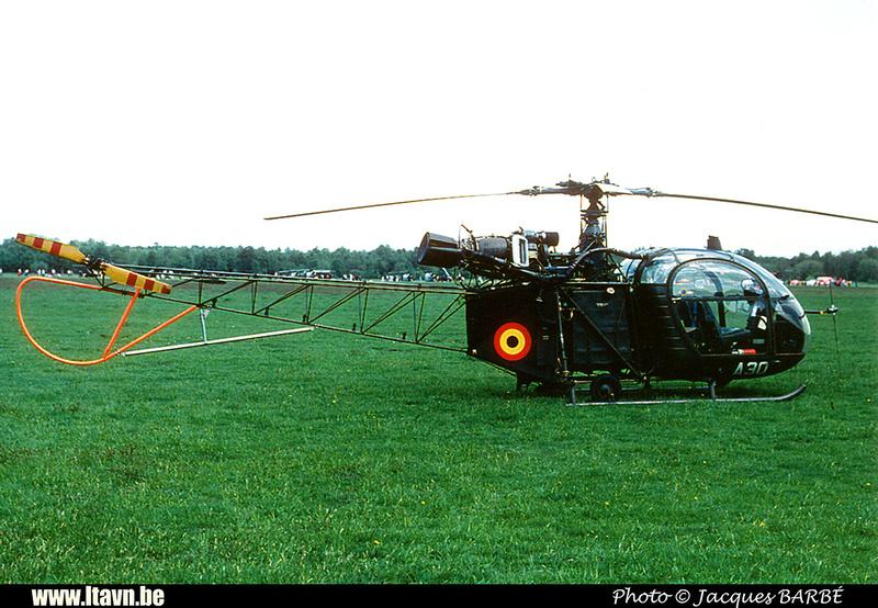 Pierre GILLARD: Aéronefs : Alouette II Artouste &emdash; A30-000036