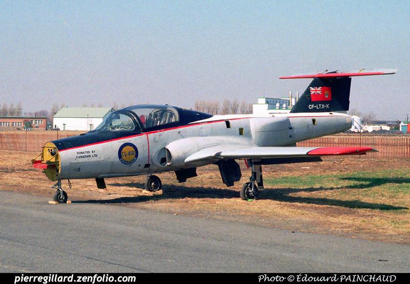 Pierre GILLARD: Canadair CL-41R CF-LTX-X &emdash; EPA-1982-001-00