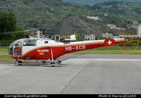 Pierre GILLARD: Air Glaciers - Sion &emdash; 2011-23716