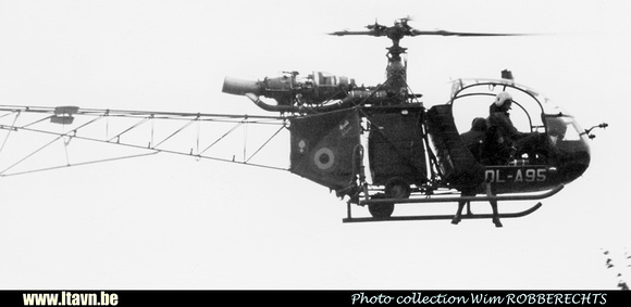 Pierre GILLARD: Aéronefs : Alouette II Astazou &emdash; A95-008852