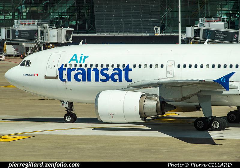 Pierre GILLARD: Air Transat &emdash; 2017-519850