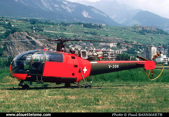 Pierre GILLARD: Forces Aériennes - Alouette III &emdash; V206-002094