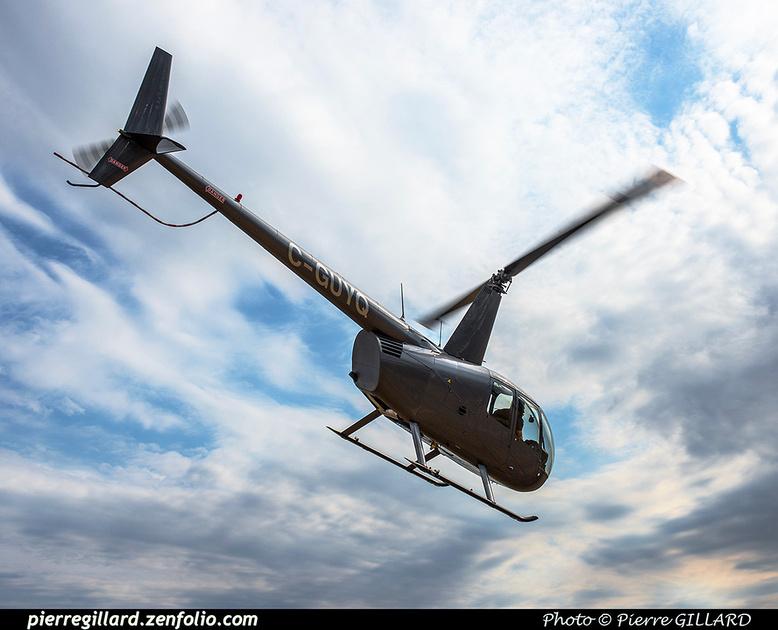 Pierre GILLARD: Canada - Robinson R44 C-GUYQ &emdash; 2017-610541