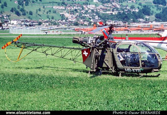 Pierre GILLARD: Switzerland - Private helicopters - Hélicoptères privés &emdash; 002091