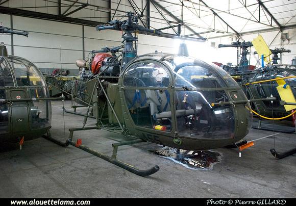 Pierre GILLARD: Aéronefs : Alouette II Astazou &emdash; A55-003673