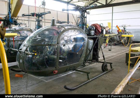 Pierre GILLARD: Aéronefs : Alouette II Astazou &emdash; A57-003677