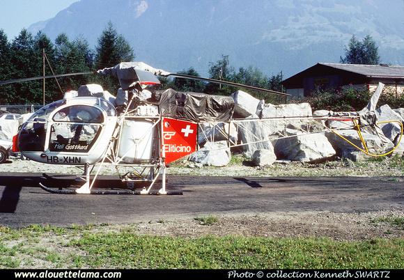Pierre GILLARD: Switzerland - Heli Gotthard &emdash; 004968
