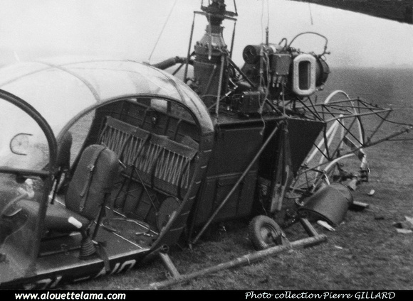 Pierre GILLARD: Aéronefs : Alouette II Artouste &emdash; A10-000015