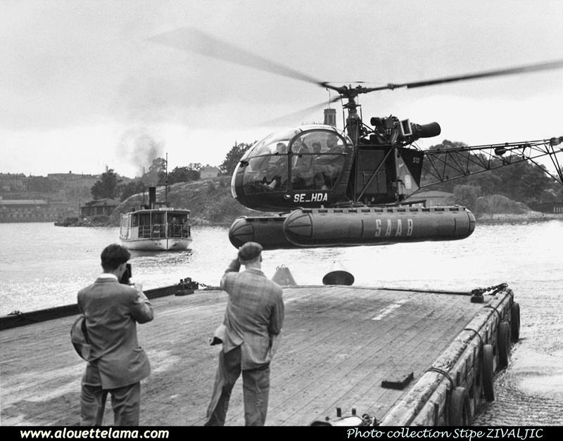 Pierre GILLARD: Sweden - SAAB Helikopter &emdash; 008327