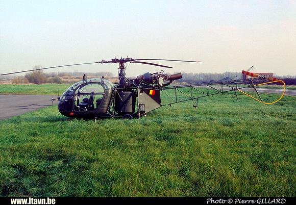 Pierre GILLARD: Aéronefs : Alouette II Astazou &emdash; A81-006604